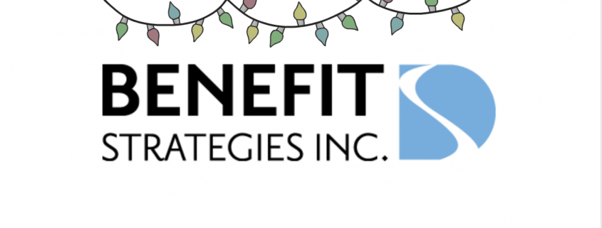 Benefit Strategies Happy Holidays Logo