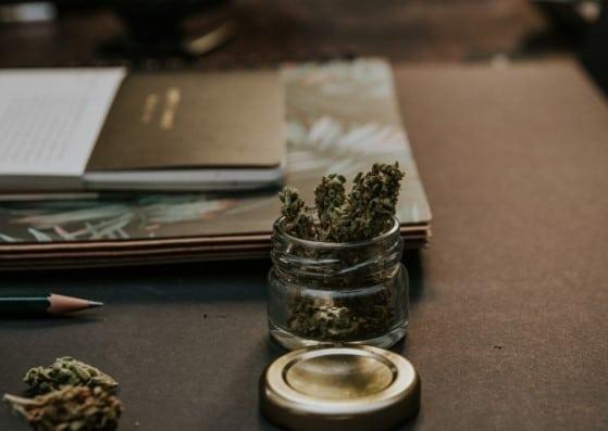 Bottle with Legalized Marijuana - Benefit Strategies Inc